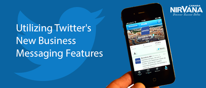 Utilizing Twitter's New Business Messaging Features