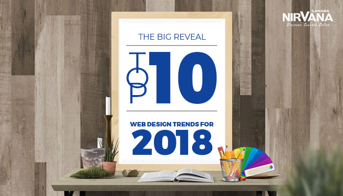 10 Web Design Trends for 2018
