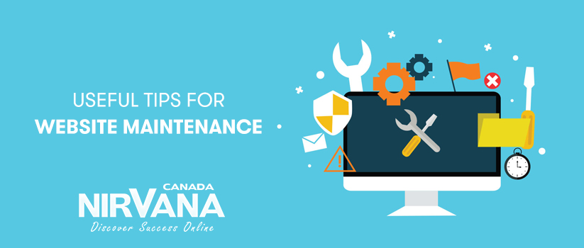 Website Maintenance