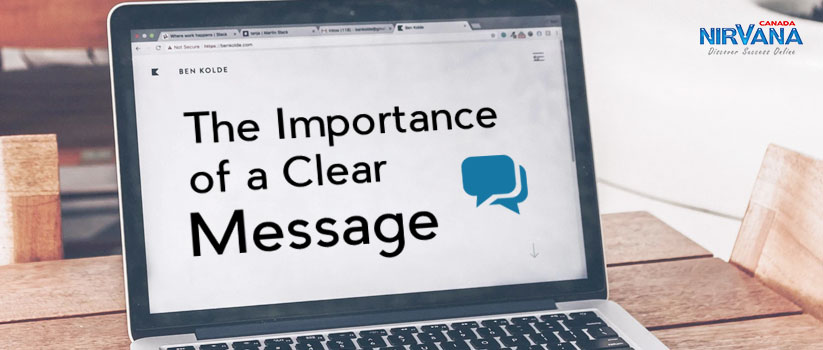 Importance of a Clear Message
