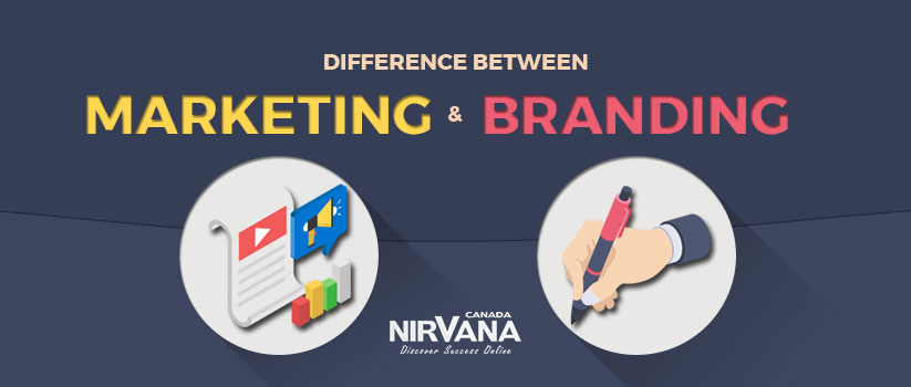 Difference between Marketing and Branding