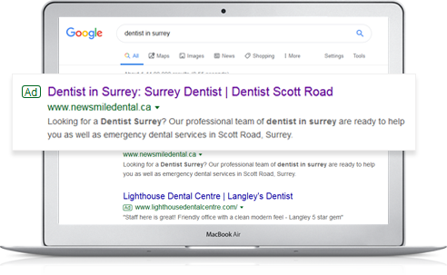 Paid Search for Dentists